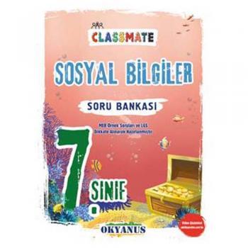 7. Sınıf Classmate Sosyal Bilgiler Soru Bankası Okyanus Yayınları