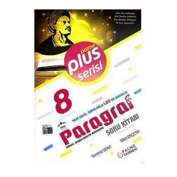 8. Sınıf Paragraf Plus Serisi Soru Kitabı Palme Yayıncılık YENİ