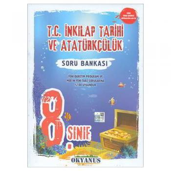 8. Sınıf T.C. İnkılap Tarihi ve Atatürkçülük Soru Bankası Okyanus Yayınları