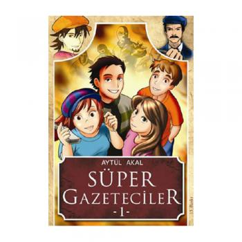 Süper Gazeteciler 1 Tudem Yayınları