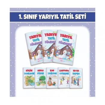 1. Sınıf Yarıyıl Tatil Seti Mavi Deniz Yayınları