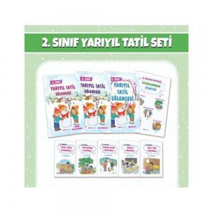 2. Sınıf Yarıyıl Tatil Seti Mavi Deniz Yayınları