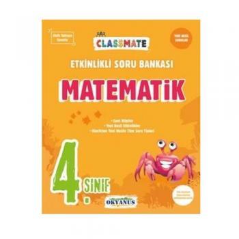 4. Sınıf Matematik Classmate Etkinlikli Soru Bankası Okyanus Yayınları