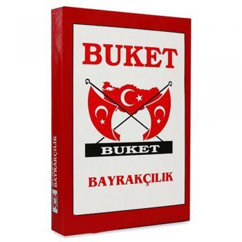 Buket Türk Bayrağı 30X45 ALPAKA BKT.102