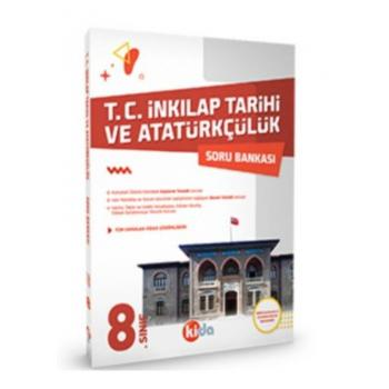8.Sınıf T.C.İnkılap Tarihi ve Atatürkçülük Soru Bankası Kida Yayınları