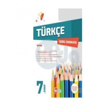 7. Sınıf Türkçe Soru Bankası Kida Yayınları