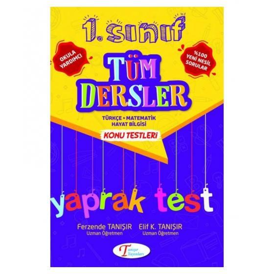 TANIŞIR 1.SINIF TÜM DERSLER YAPRAK TEST
