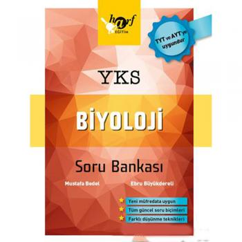 YKS TYT AYT Biyoloji Soru Bankası Harf Yayınları
