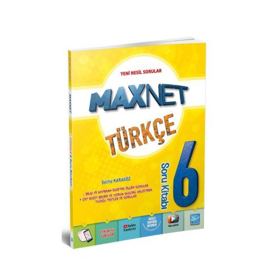 Karaca Eğitim Yayınları Maxnet 6. Sınıf Türkçe Soru Kitabı