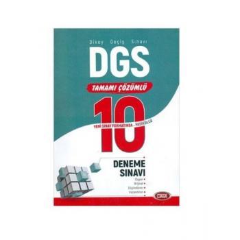 DGS Tamamı Çözümlü 10 Fasikül Deneme Sınavı Data Yayınları