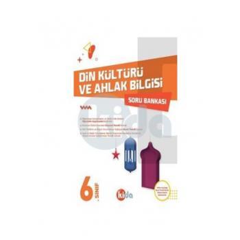 6. Sınıf Din Kültürü ve Ahlak Bilgisi Soru Bankası Kida Yayınları