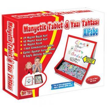 Diytoy Manyetik Tablet Alfabe Seti (TABA21)