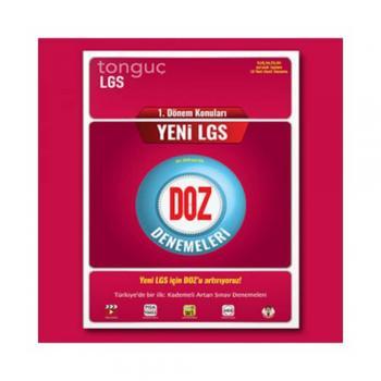 LGS 1.Dönem DOZ Denemeleri Tonguç Yayınları