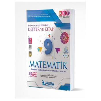 9. Sınıf KET Serisi Matematik Defter ve Kitap Muba Yayınları