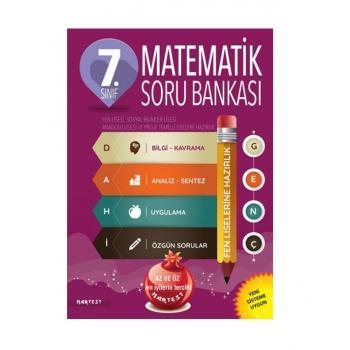 7. Sınıf Dahi Genç Matematik Soru Bankası Fen Liselerine Hazırlık