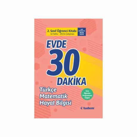 Tudem Evde 30 Dakika Türkçe Matematik Fen 2. SINIF