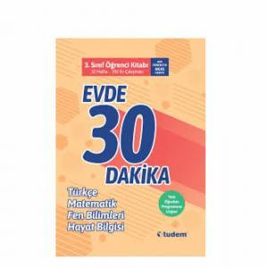 Tudem Evde 30 Dakika Türkçe Matematik Fen 3. SINIF