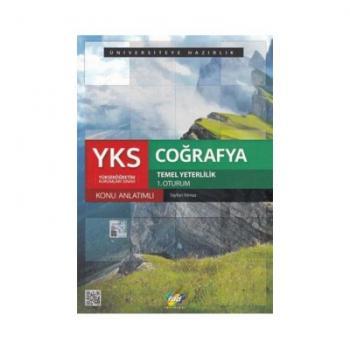 YKS 1. Oturum Coğrafya Konu Anlatımlı FDD Yayınları