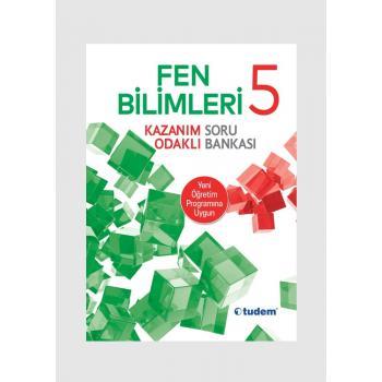 5. Sınıf Tudem Yayınları FEN Kazanım Odaklı Soru Bankası