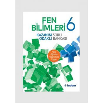 6. Sınıf Tudem Yayınları Fen Bilimleri Kazanım Odaklı Soru Bankası