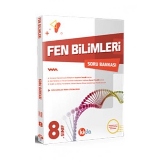 8.Sınıf Fen Bilimleri Soru Bankası Kida Yayınları