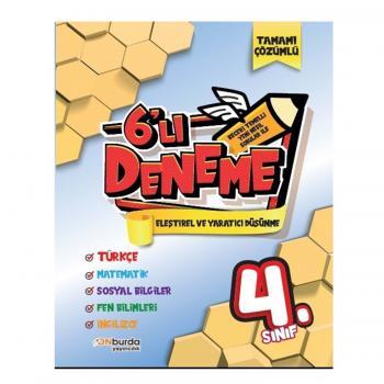 ONburda 4.Sınıf Beceri Temelli Yeni Nesil Sorularla 6'lı Deneme Seti