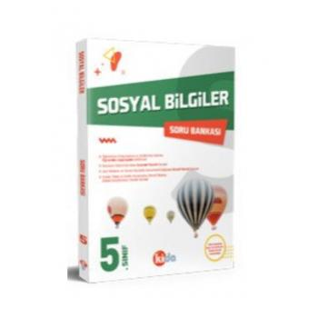 5. Sınıf Sosyal Bilgiler Soru Bankası Kida Yayınları