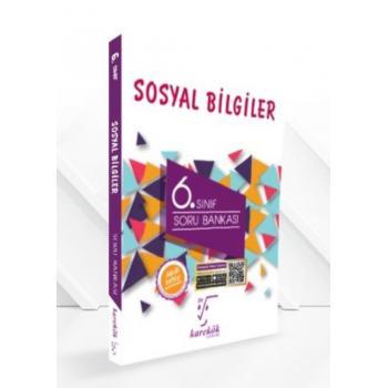 6. Sınıf Sosyal Bilgiler Soru Bankası Karekök Yayınları