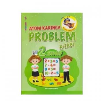 2.Sınıf Problemler Kitabı Atom Karınca Yayınları