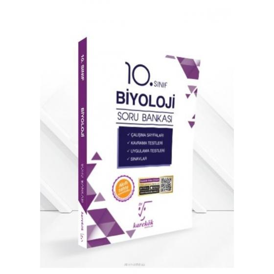 10. Sınıf Biyoloji (İpuçlarıyla) Soru Bankası Karekök Yayınları