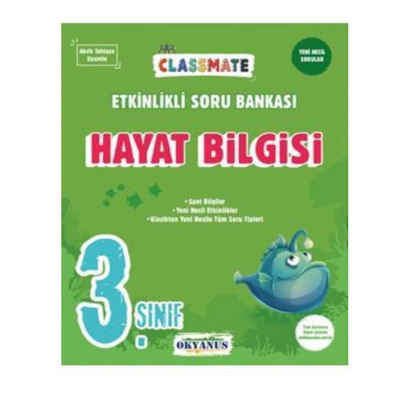 3. Sınıf Classmate Hayat Bilgisi Etkinlikli Soru Bankası Okyanus Yayınları
