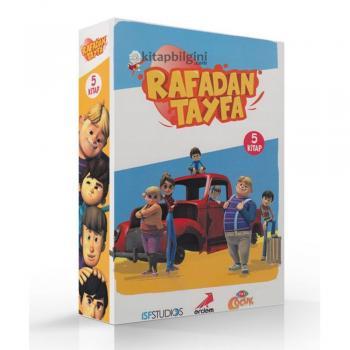 Rafadan Tayfa Dizisi 5 Kitap Takım Erdem Yayınları