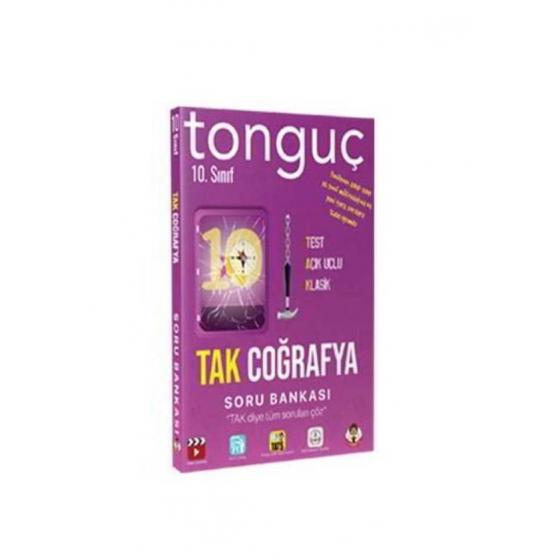 10. Sınıf TAK Coğrafya Soru Bankası Tonguç Akademi
