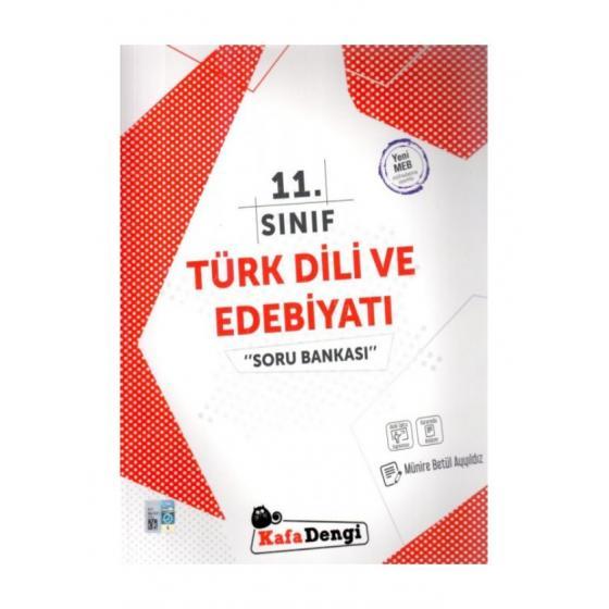 11. Sınıf Türk Dili ve Edebiyatı Soru Bankası Kafadengi Yayınları