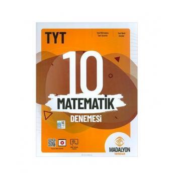 TYT Matematik 10 Denemesi Madalyon Yayınları
