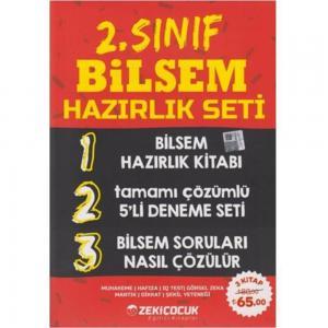 2. Sınıf BİLSEM Hazırlık Seti Zeki Çocuk Yayınları