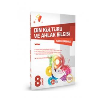 8.Sınıf Din Kültürü ve Ahlak Bilgisi Soru Bankası Kida Yayınları