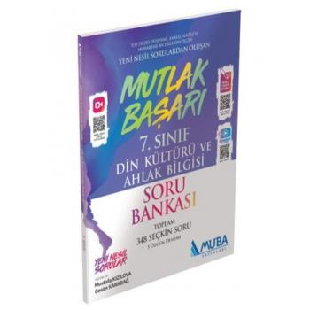 7. Sınıf Mutlak Başarı Din Kültürü ve Ahlak Bilgisi Soru Bankası Muba Yayınları