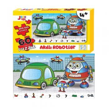 Joho Toys Akıllı Robotlar 60 Parça 4+ YAŞ  Puzzle Joho Toys Komisyon Joho Toys