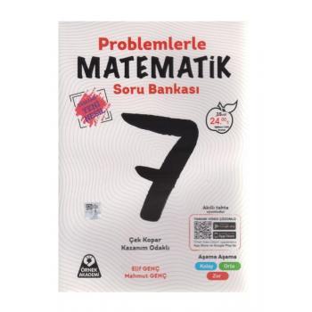 7. Sınıf Problemlerle Matematik Soru Bankası Örnek Akademi Yayınları