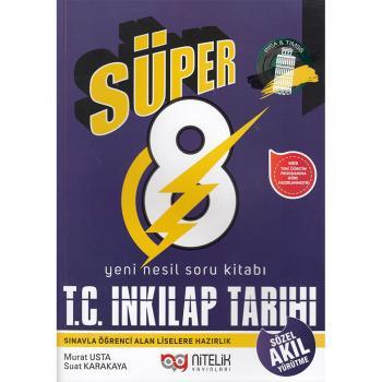 8. Sınıf Süper T.C. İnkılap Tarihi ve Atatürkçülük Soru Kitabı Nitelik Yayınları