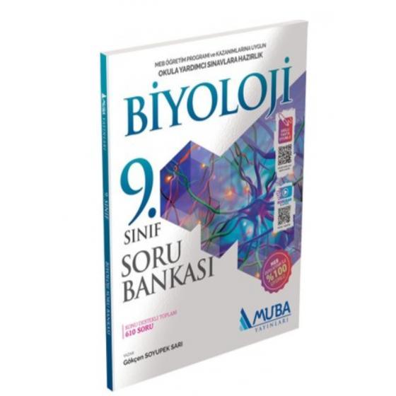 9. Sınıf Biyoloji Soru Bankası Muba Yayınları