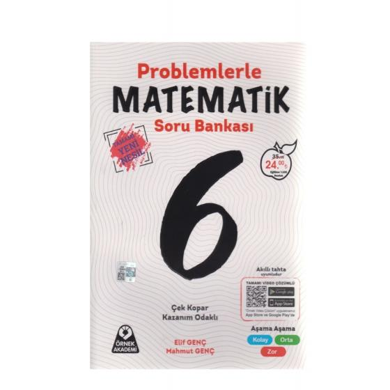 6. Sınıf Problemlerle Matematik Soru Bankası Örnek Akademi Yayınları