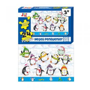 Joho Toys Neşeli Penguenler 24 Parça  +3 YAŞ Puzzle Joho Toys Komisyon Joho Toys