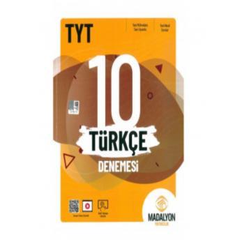 TYT Türkçe 10 Denemesi Madalyon Yayınları