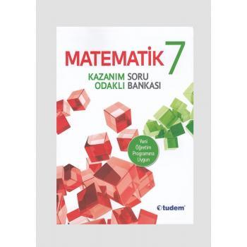 Tudem Yayınları 7.Sınıf MATEMATİK Kazanım Odaklı Soru Bankası Tudem Yayınları