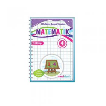4. Sınıf Matematik Etkinliklerle Çalışma Yaprakları 2. Kitap Mavi Deniz Yayınları