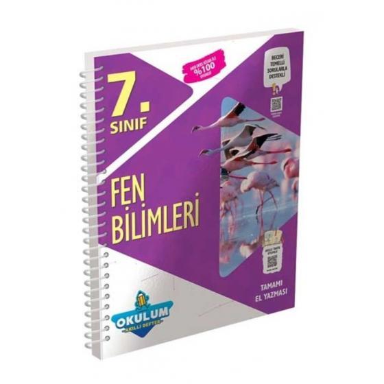 7.Sınıf Fen Bilimleri Okulum Akıllı Defter Murat Yayınları