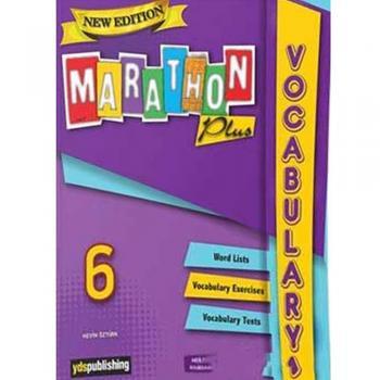 New Edition Marathon Plus Grade 6 Vocabulary Book YDS Publishing Yayınları