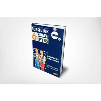 6. Sınıf Bursluluk Sınavı Konu Anlatımlı Soru Bankası PYBS İOKBS Data Yayınları